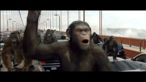 They rise. We fall. Rise of the Planet of the Apes
