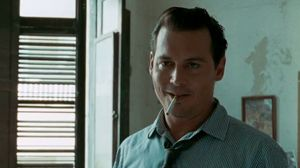 He's got the grin. The Rum Diary