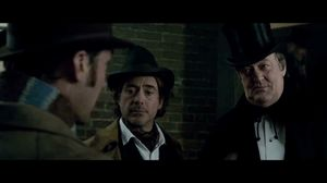 Good evening Sherley. I see your bootmaker is ill, dear brother. Sherlock Holmes 2