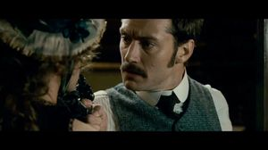 Robert Downey Jr. turns up in a dress in Sherlock Holmes: A Game of Shadows