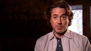 Robert Downey Jr. on Conan Doyle and Moriarty in Sherlock Holmes 2