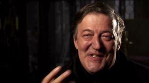 Stephen Fry on Robert Downey Jr's withering looks and playing his brother in Sherlock Holmes 2