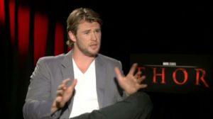 Chris Hemsworth talks about Thor