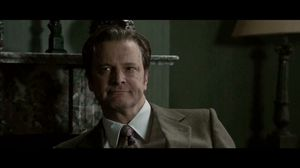 Gary Oldman finds Colin Firth in his house without shoes on in Tinker Tailor Soldier Spy