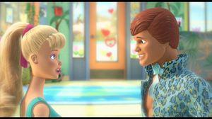 Toy Story 3: Barbie meets Ken