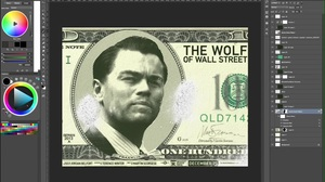 Speed Drawing: The Wolf Of Wall Street