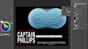 Speed Drawing: Captain Phillips