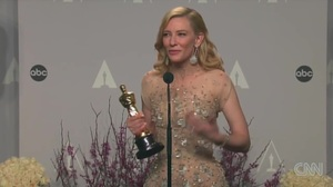 Cate Blanchett interview after winning Best Actress