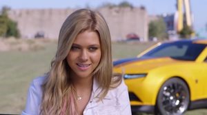 Behind the Scenes: Interview with Nicola Peltz on Transforme