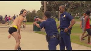 Let's Be Cops deleted scene: We don't wear this in America!