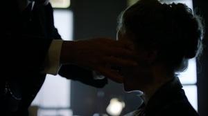 Masked woman in The Knick. S01E03 sneak peak