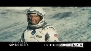 Official International TV Spot for 'Interstellar'