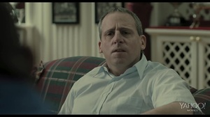 Do you have any idea who I am? Steve Carell and Channing Tatum have a chat in Foxcatcher