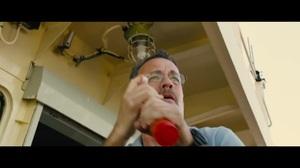 Tom Hanks' ship under fire
