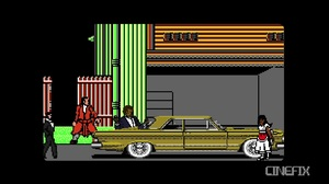 CineFix turned Pulp Fiction into a 8 bit video game, and it'