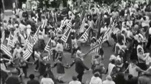 Newsreel Footage of the Freedom March from Selma to Montgome