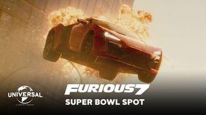Official Furious 7 Super Bowl TV Spot