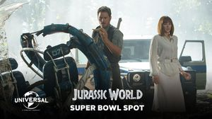 Official Jurassic World Super Bowl TV Spot