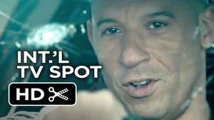 New International TV Spot for 'Furious 7'