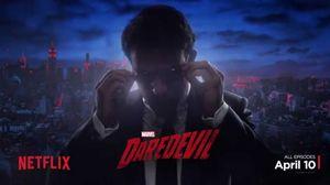 Transformation Motion Poster for Marvel's 'Daredevil'