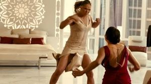 Michelle Rodriguez fights MMA Ronda Rousey and her girls in