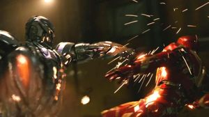 Iron Man Battles Ultron in New 'Avengers: Age of Ultron' Cli