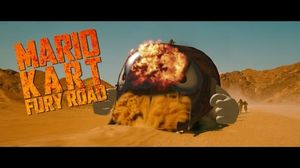 What a lovely day for Mario Kart. Mad Max: Fury Road parody