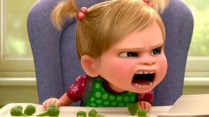 Broccoli causes Disgust and Anger in Inside Out