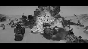 Black and White Mad Max: Fury Road trailer