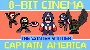 8-Bit Cinema reimagines Captain America: The Winter Soldier
