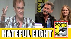 Watch the Full 'Hateful Eight' Comic-Con Panel with Quentin
