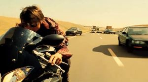 Tom Cruise chased in car and on bike in new Mission: Impossi