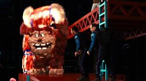 Donkey Kong Attacks in New Clip from 'Pixels'