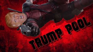 Donald Trump is Deadpool in the latest mash-up.