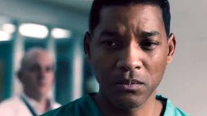 Will Smith goes to war with the NFL in first trailer for 'Co