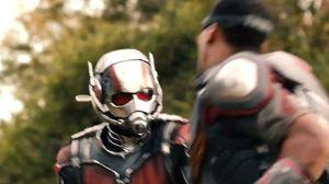 Ant-Man versus Falcon clip