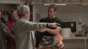 Behind the Scenes Footage from 'The Martian' Set