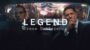 Watch the full TIFF Press Conference for 'Legend' with Tom H