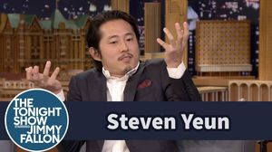 Steven Yeun on how he kept Glenn's fate a secret on The Walk