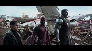 Deadpool 'Superhero Landing' Official Clip