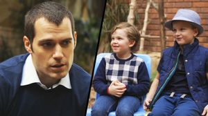 Henry Cavill Asks Kids: Batman Or Superman?