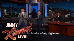 "'The Jungle Book' stars Bill Murray & Neel Sethi Sing ""the"