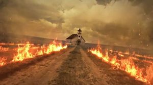 Follow the burning road in the new promo for AMC's 'Preacher
