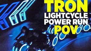 Tron Lightcycle Power Run Ride At Shanghai Disneyland