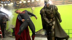 An awesome behind the scenes look at how the Batman-Superman