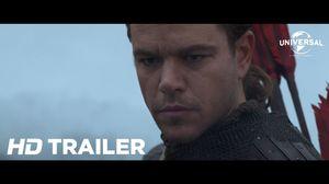 See Matt Damon in Zhang Yimou's Fantasy Action Film 'The Gre