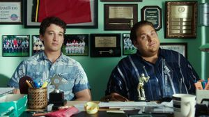 Jonah Hill and Miles Teller in the official trailer for 'War