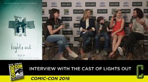The 'Lights Out' cast on what terrified them the most on the