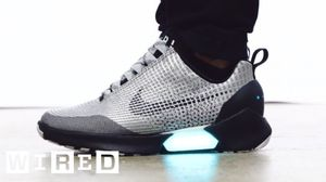 Check out this cool video on the Nike HyperAdapt. The first