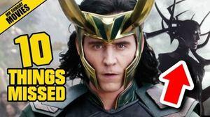 Thor: Ragnarok Trailer Things Missed, Easter Eggs & Infinity